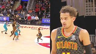 Trae Young Shocks Crowd With Crazy Deep Stephen Curry Range Shots! Hawks vs Hornets 2020 NBA Season