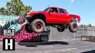 Chevy Silverado Prerunner - Jump Smash Burnout Combo