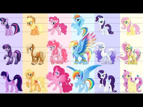 My Little Pony G5 FINAL Character Designs!? - YouTube