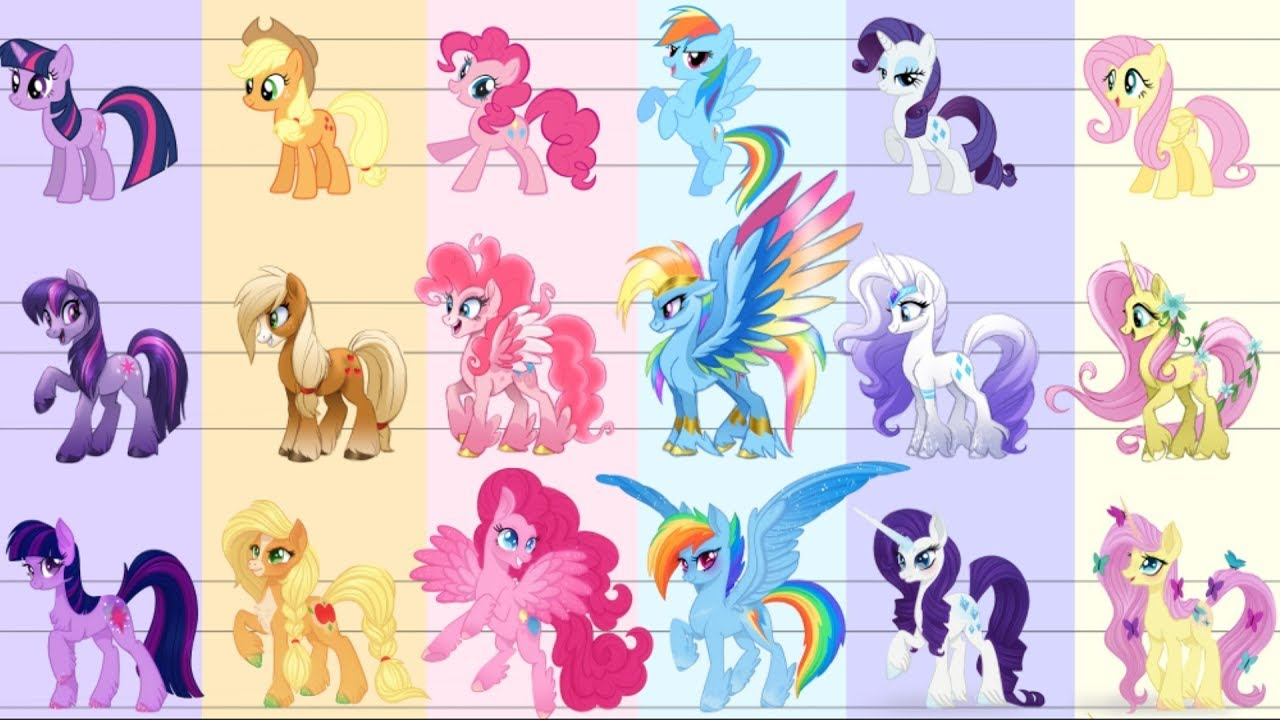 My Little Pony G5 Final Character Designs Youtube