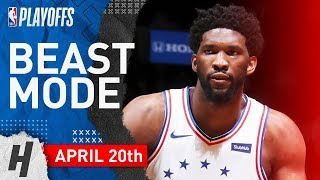 Joel Embiid Full Game 4 Highlights 76ers vs Nets 2019 NBA Playoffs - 31 Pts, 16 Reb, 7 Ast, 6 Blocks