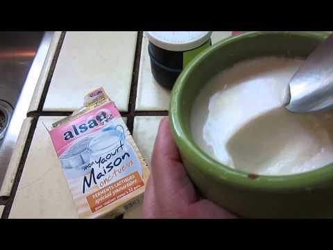 Cooking - homemade yogurt from from yogurt, pretty relaxing but not ASMR