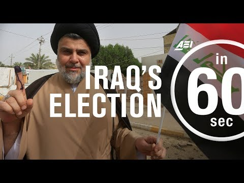 Iraq's election: What does it mean for the Iraqi people?   IN 60 SECONDS