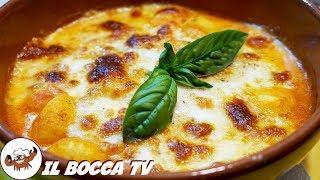 599 - Gnocchi alla sorrentina..dall'Italia fino in Cina! (primo vegetariano tipico facile e gustoso)