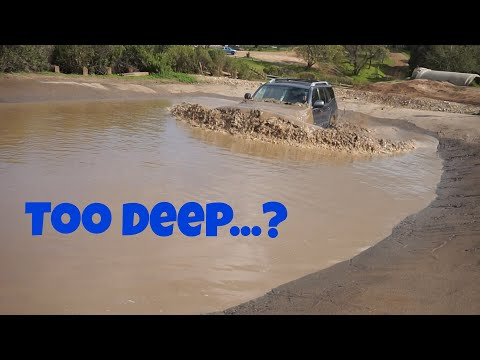 Stock 4runner Vs Lifted Lexus GX470! Almost Drowned!