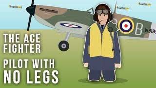 The WWII Flying Ace with No Legs (Strange Stories)