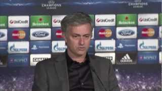 Real Madrid 1-1 Manchester United - Champions League - Ferguson and Mourinho reflect on draw