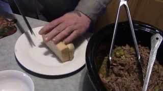 Italian Beef Sandwich, Hanging Utensils