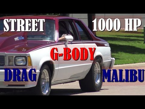 1000HP Nitrous G-Body Malibu Street Cruiser