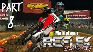 MX vs ATV Reflex! - Gameplay/Walkthrough - Part 8 - MULTIPLAYER/Stone Point Rd 2!