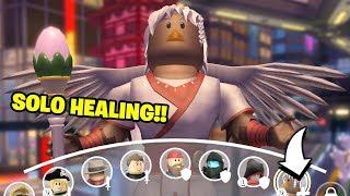 The ONLY Healer in ROBLOX Q-Clash!! (Zadena Gameplay)