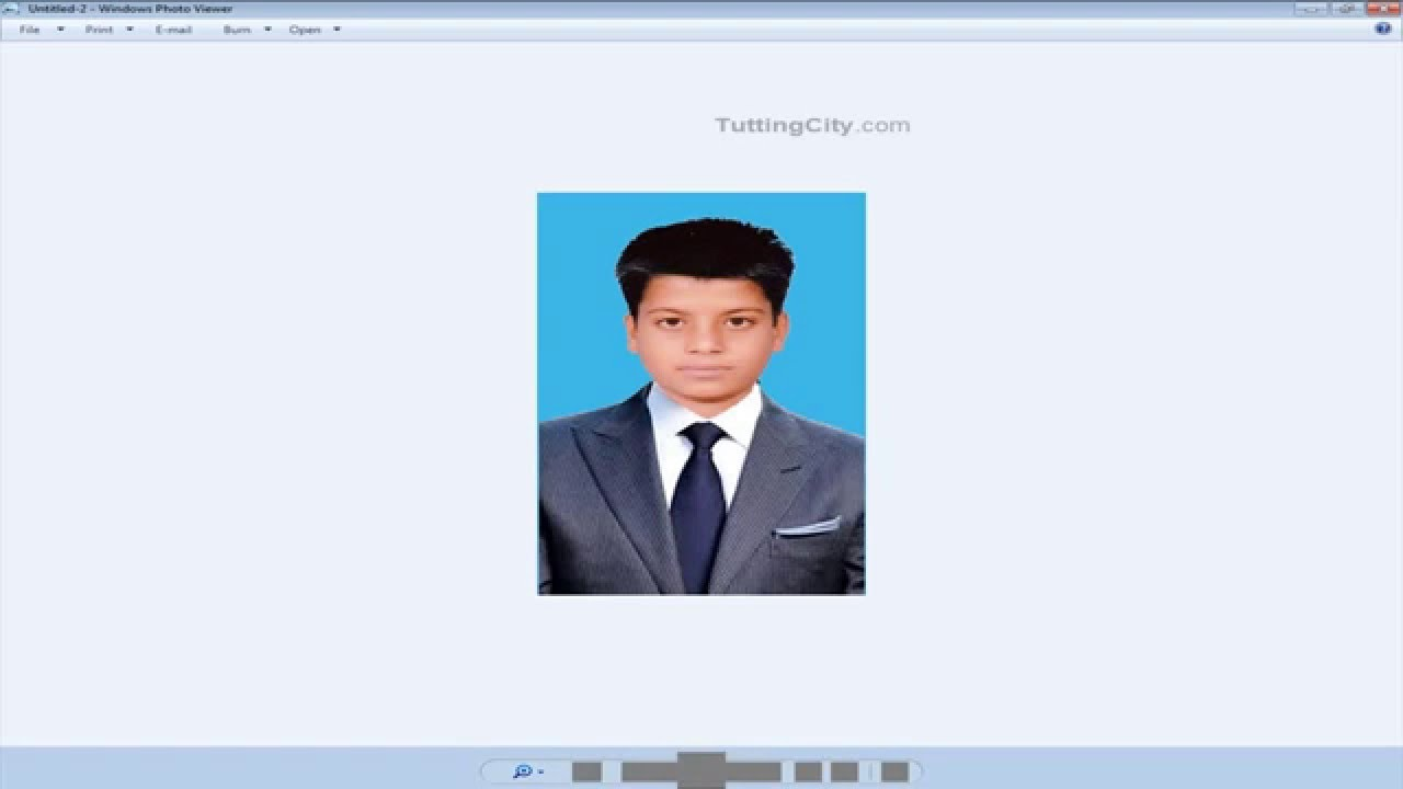 how to make pasport or id card size photo in photoshop youtube