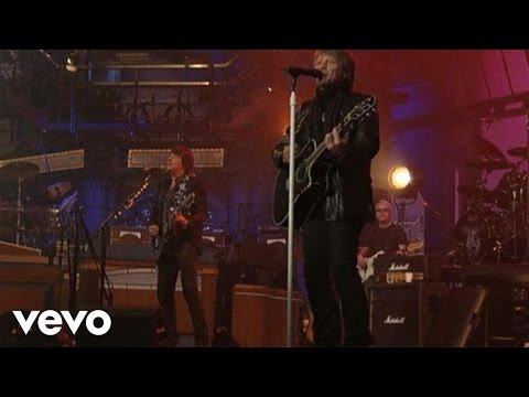 Bon Jovi - We Weren't Born To Follow (Live on Letterman)