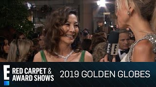 "Michelle Yeoh Wears Her ""Crazy Rich Asians"" Ring at 2019 Golden Globes 