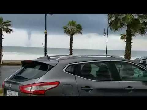 شاهد اعصار بالرباط المغرب  tournade à Rabat Maroc 2018