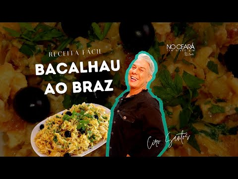 Receita Fácil de Bacalhau ao Braz   Ciro Santos