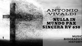 Vivaldi - Nulla in mundo pax sincera RV 630