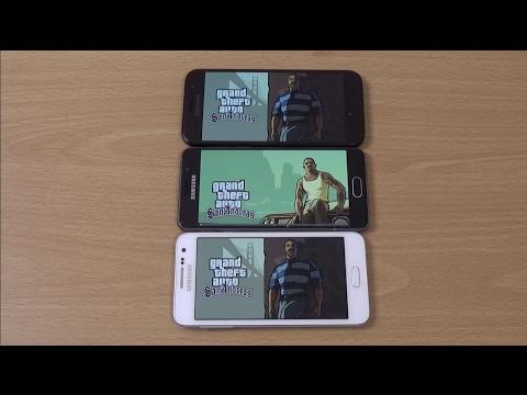 Samsung Galaxy A3 2017 vs A3 2016 vs A3 2015 - Gaming Comparison!