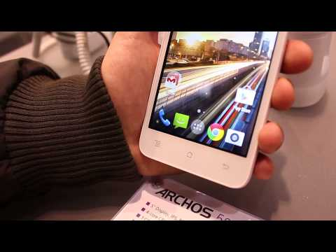 MWC 2015: Archos 50C Helium 4G e 50 Oxygen+ hands-on by GizChina.it