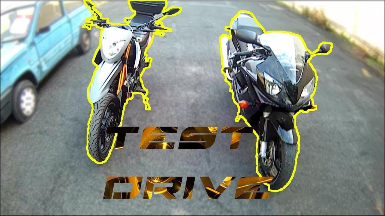 Test Keeway 125 Txtxm Motard 4t 2017 And Cbr 600 F Moto Vlog