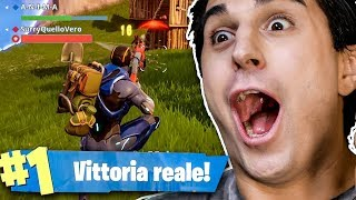 ANIMA E SURRY SU FORTNITE!! UNA VITTORIA REAL EPIC!
