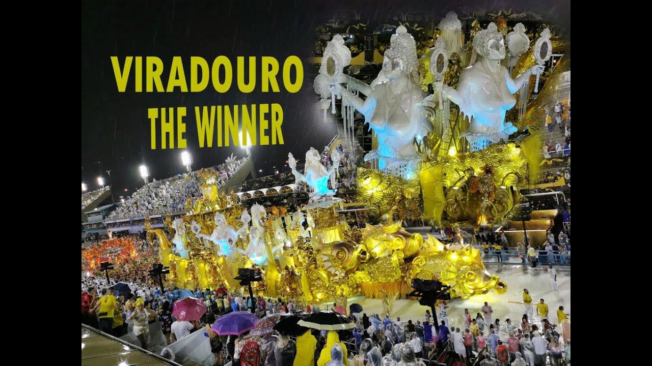 Viradouro 2020 - Desfile. THE WINNER of Carnaval in Rio de Janeiro, Brasil