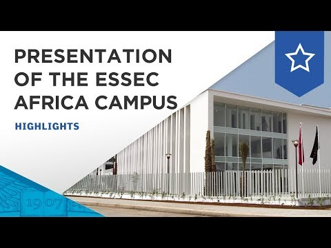 ESSEC presents new ESSEC Africa-Atlantic Campus