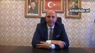Ak Parti İl Başkan Vekili Fatih Hasyuncu_açıklama_metropolhaber.net