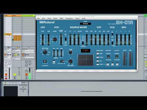 SH-01A Midi Controller/ Editor