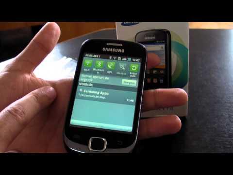 Samsung Galaxy Fit S5670 review HD ( in Romana ) - www.TelefonulTau.eu -