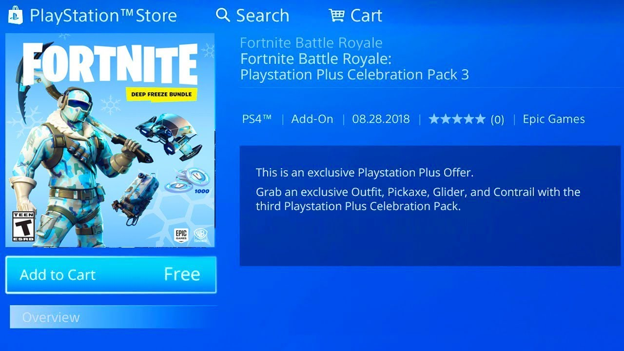 fortnite deep freeze bundle price