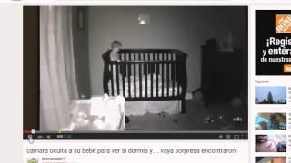 Repeat youtube video Cámara Oculta A Bebé Para Ver Si Dormía Y... NO TEMAS