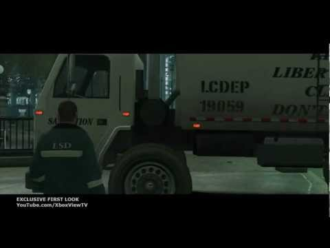 Grand Theft Auto IV: The Trashmaster  Exclusive Made Movie French Subtitles  HD