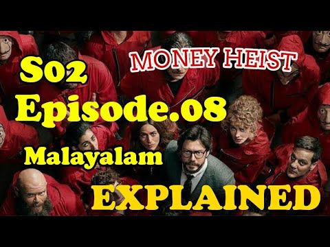 Download എത്ര പേരുടെ ജീവൻ ഇനി ബാക്കിയുണ്ട്/ Money Heist S02 E08 Explained in Malayalam.