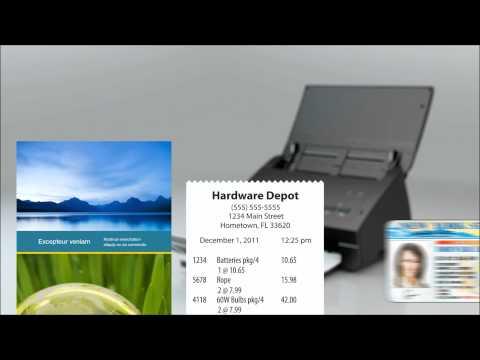 ImageCenter™ ADS-2000 High-Speed Desktop Document Scanner