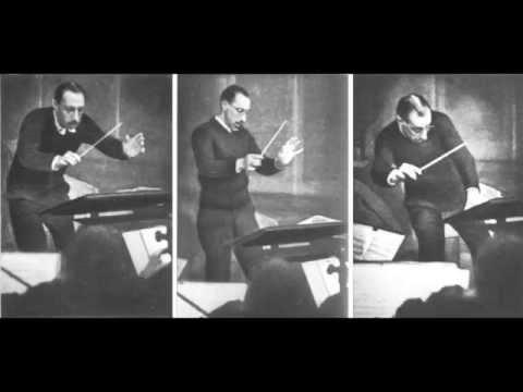 Le Sacre du Printemps – historical recording, Stravinsky cond. (1929)