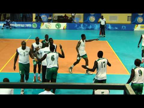 Congo V Nigeria in Men's All Africa Games- Volleyball