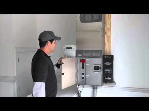 Raleigh Solar Power System Installation with Battery Back Up