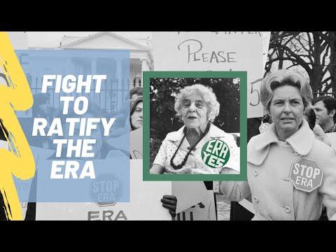 Equal Rights Amendment: Blocking the Ratification