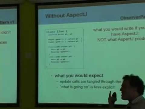 Aspect Oriented Programming: Radical Research in Modularity