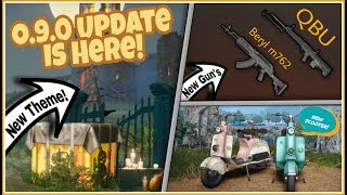 Pubg Mobile 0.9.0 UPDATE IS HERE! (2)Two New GUN'S   New VEHICLE! HALLOWEEN THEME & Lots More!