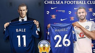 Chelsea TRANSFER News - 5 Players CHELSEA Need To Sign To Regain Dominance ft Bale Bonucci Mahrez
