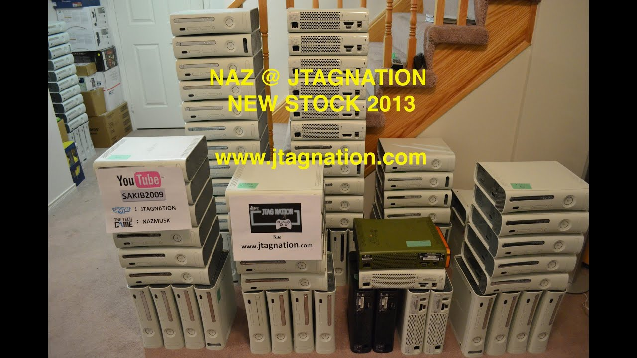 Used modded xbox 360 falcon rgh 1. 2. Jtag for sale in las vegas.