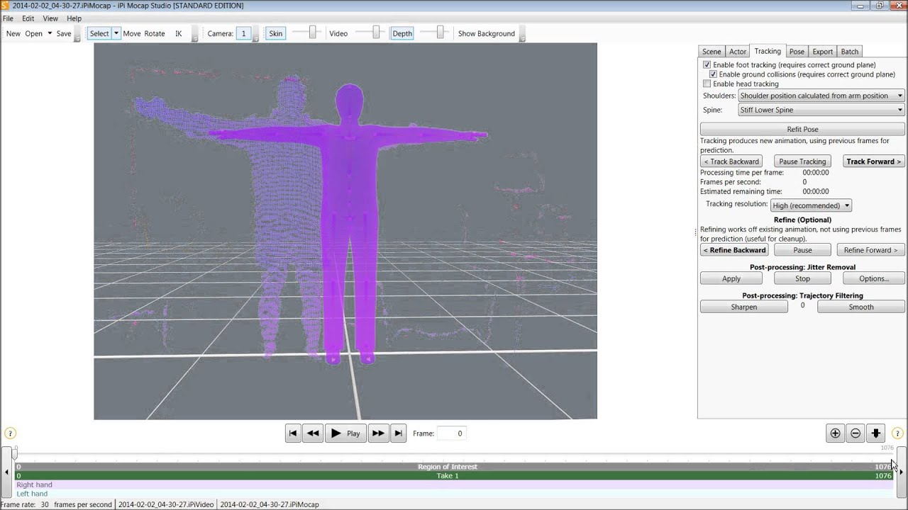 Video Game Development 101 Lesson 9 - Creating a Motion Capture Studio at  Home! iPi Soft, Kinect