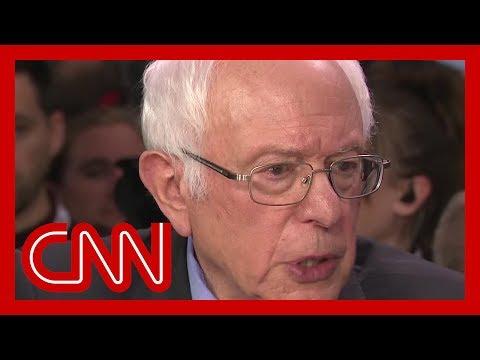 Bernie Sanders shrugs