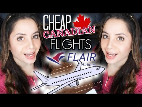 FLAIR AIRLINES REVIEW (formerly New Leaf) | CHEAP FLIGHTS IN CANADA