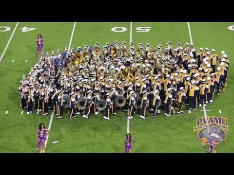 Halftime - Prairie View A&M University Marching Band | Labor Day Classic (2016)