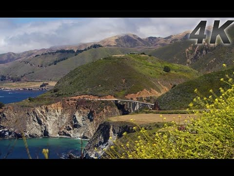"""The Big Sur 4K Experience"" PART II 1 HR Pure Nature Relaxation Video"