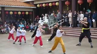 Chinese New Year 2019 Celebration at IBPS (Austin, TX)-Shaolin Kung-Fu Demonstration