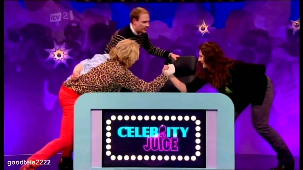 Celebrity juice youtube music video